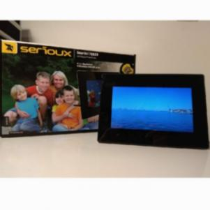 Serioux SA702 LED Digital Photo Frame 7''