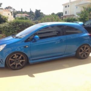 Opel corsa opc 9500 km