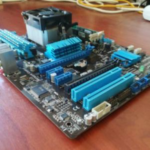 Asus M5A97 + 8GB RAM + CPU AMD FX6300 6CORE
