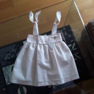 Angel Wings λινό φόρεμα 18 μηνών