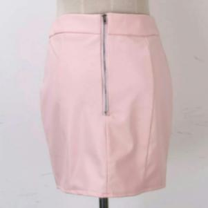 Bodycon Leather High Waist Mini skirt