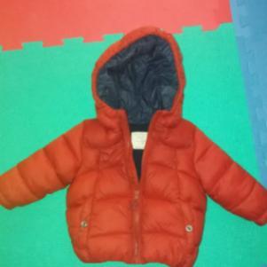 Μπουφάν κόκκινο Zara