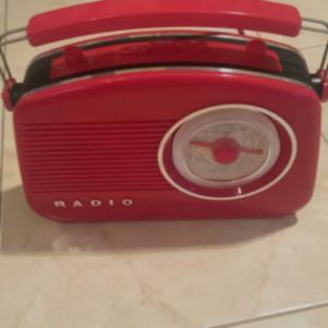 Radio Addex DOLCE  (Red)