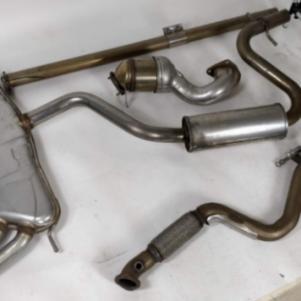 Εξάτμιση εργαστασιακη VW Scirocco 1.4 160hp