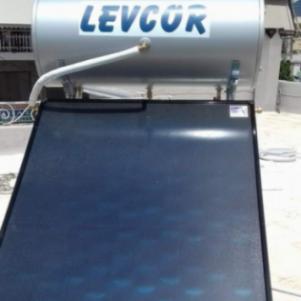 Hλιακος θερμοσιφωνας Levcor
