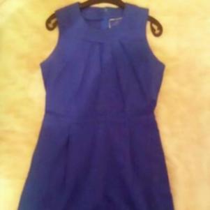 Μπλε φόρεμα Pepe Jeans