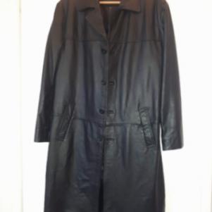 Δερματινο παλτο