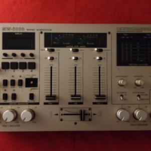 vestax mw 3000 mixing workstation