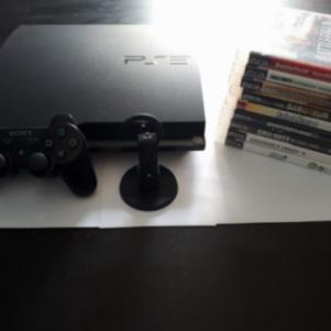 Playstation 3 Slim + 12 παιχνίδια