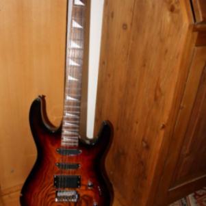 Jacky Jackson κιθάρα και ενισχυτής Marshall 50w