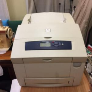 Xerox phaser 8400 color laser printer