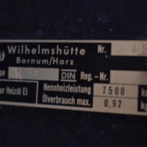 2 Σόμπες πετρελαίου Made in Germany
