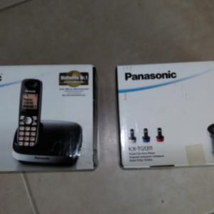 Ασυρματο τηλεφωνο Panasonic KX-TG6511 και extra handset Panasoni
