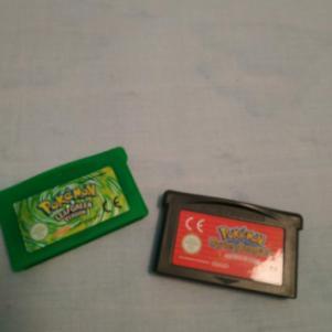 Pokémon Leaf Green & Pokémon Mystery Dungeon