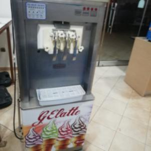 Μηχανή Παγωτού soft 3 γεύσεων με διόγκωση + 2 σιρόπια