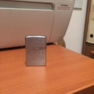 Zippo Classic Brushed Chrome Vintage Lighter 1994