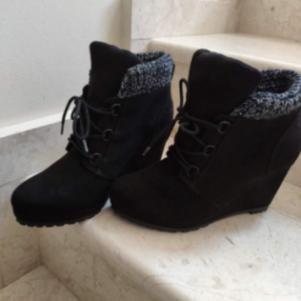 Bershka platform Ankle Boots