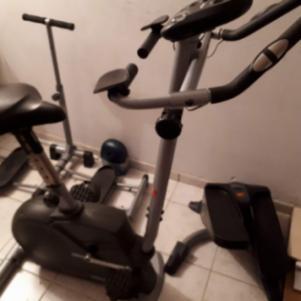 Στατικό ποδήλατο γυμναστικής (ΔΏΡΟ ΤΟ STEPPER)