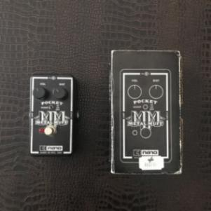 Metal muff distortion guitar pedal