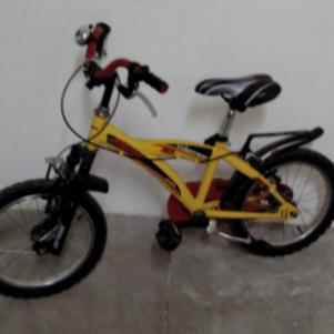 Ποδηλατο παιδικο κιτρινο