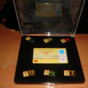 Oympic 2004 pins