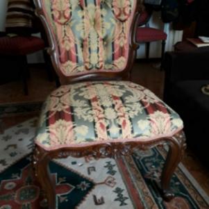 Ζευγάρι καρέκλες βικτωριανού τύπου