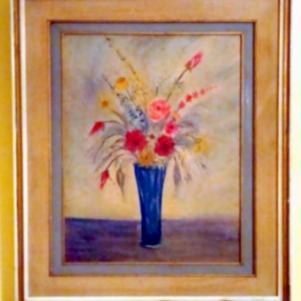 Παλαιό έργο ζωγραφικής δεκαετίας 1970.