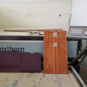 Vakum membran press