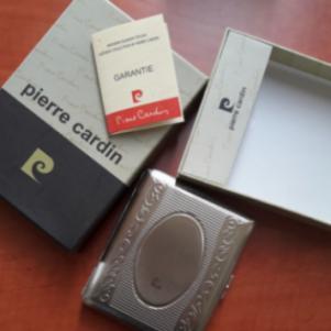 2 ταμπακιέρες τσιγάρου μικρή - μεγάλη Pierre Cardin καινούργιες.