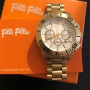 Folli Follie Χρυσό Ρολόι