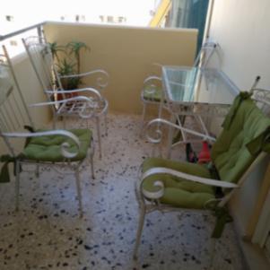 Τραπέζι κήπου βεράντας με 4 καρέκλες