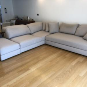 Καναπές γωνιακός HOMAD μοντέλο VERTIGO
