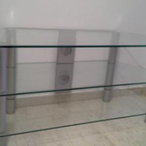 Κρυστάλλινο τραπέζι τηλεόρασης