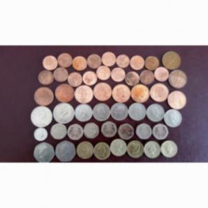 ΛΟΤ με νομίσματα Αγγλίας (35 τεμ.)
