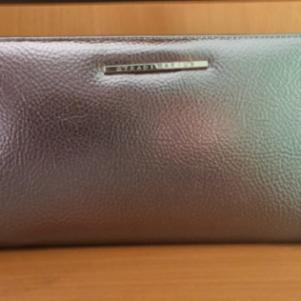 Ασημί chrome πορτοφόλι