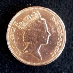 Παλαιό νόμισμα των δύο πεννών (1987)