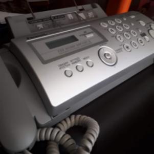 Τηλεφωνο -Fax με ψηφιακό αυτόματο τηλεφωνητή