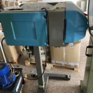 Αυτόματο μηχάνημα συσκευασίας με πλαστική σακούλα
