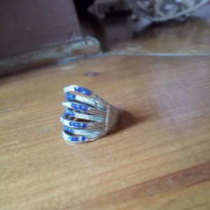 Μπλε δαχτυλίδι