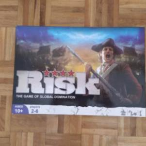 Risk:The game of global domination.