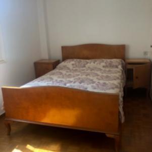 Σετ ξύλινης κρεβατοκάμαρας + Στρώμα