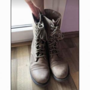 STEVE MADDEN δερμάτινες μπότες