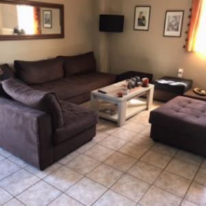 Σύνθεση γωνιακού καναπέ