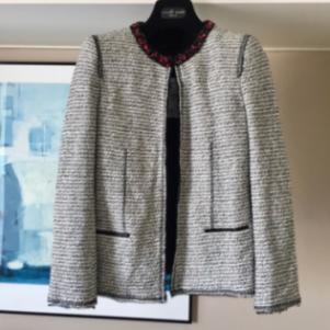 ZARA Ολοκαίνουργιο Μάλλινο Tweed Σακάκι