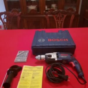 Bosch Impact Drill GSB 19-2 RE Professional Set in Craftsmen Sui