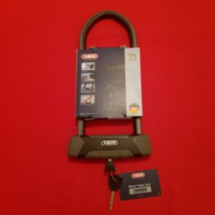 ABUS Black Lock 540/160HB300 GRANIT X-Plus Bicycle U-Lock Made I