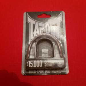 TapOut Αdult Age 12 Years + Multisport Mouthguard - Color Grey
