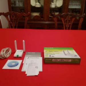 TP-LINK TL-WN822N 300Mbps High Gain Wireless-N Dual external ant