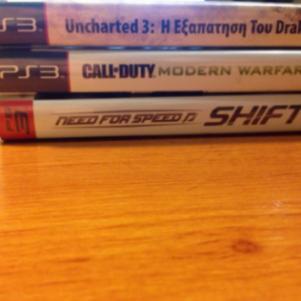 3 παιχνίδια για Ps3