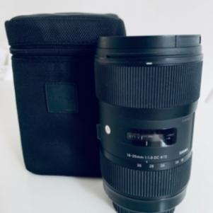 SIGMA DC 18-35mm F1.8 HSM FOR CANON